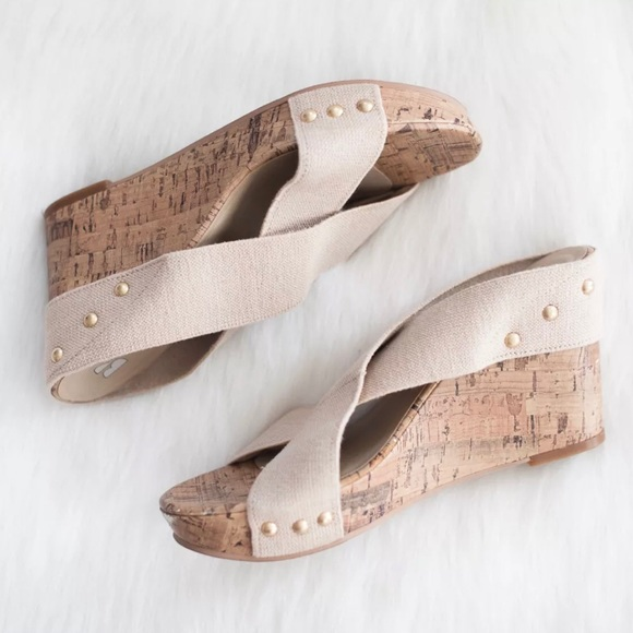 0ddc5c0a0eb BP Shoes - BP. Nordstrom Tara Cork Canvas Stretch Wedge